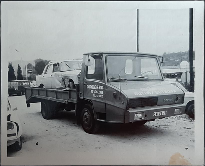 1ère entreprise de dépannage en Savoie en 1970