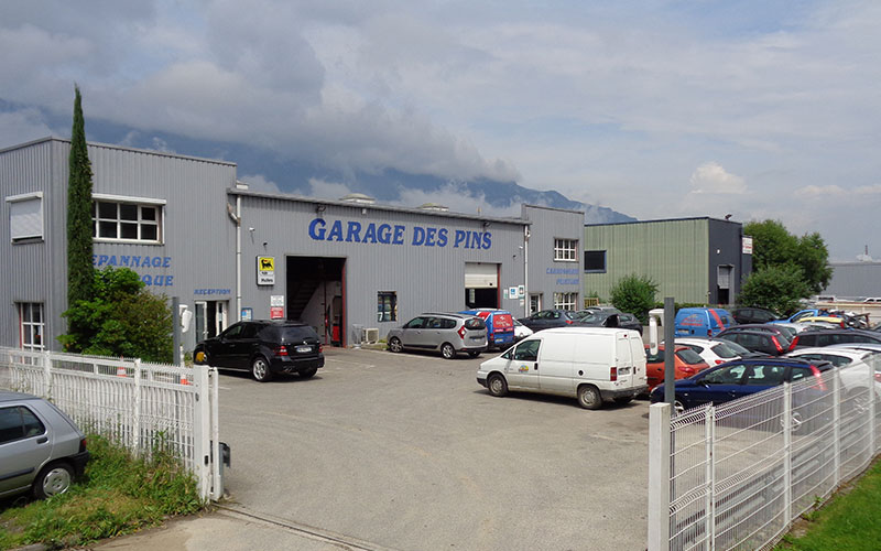 Dépannage et remorquage au plus près de Chambéry, Aix-Les-Bains, La Motte-Servolez Dépannage et remorquage à partir du site de Voglans